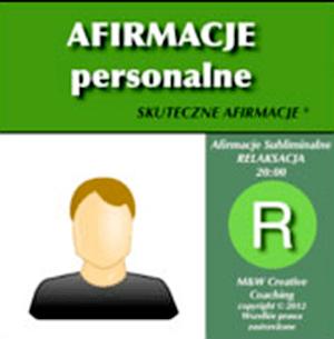 NAGRANIE PERSONALNE (do 40 afirmacji)
